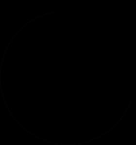Lounaskahvila Ohra Logo Musta Läpinäkyvä